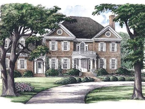 southern colonial house plans georgian house plan with 3951 square feet and 5 bedrooms s