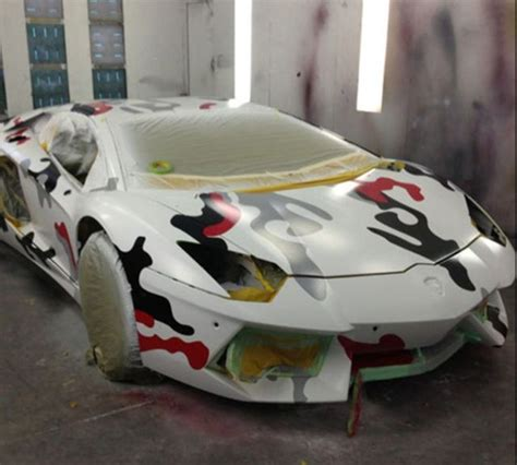 lamborghini customised chris brown s radically customised lamborghini aventador