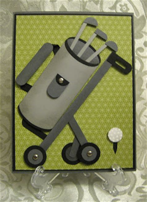 golf punch card template st n design golf bag with cart card