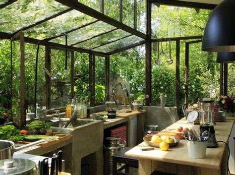 garden in the kitchen moon to moon green house garden room dining