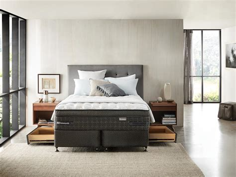 Posturepedic Bed by Posturepedic Spacesaver Bed Base With Drawers Sealy