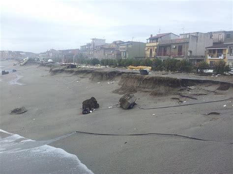 comune di messina ufficio sta erosione litorale galati adesso possono partire i lavori