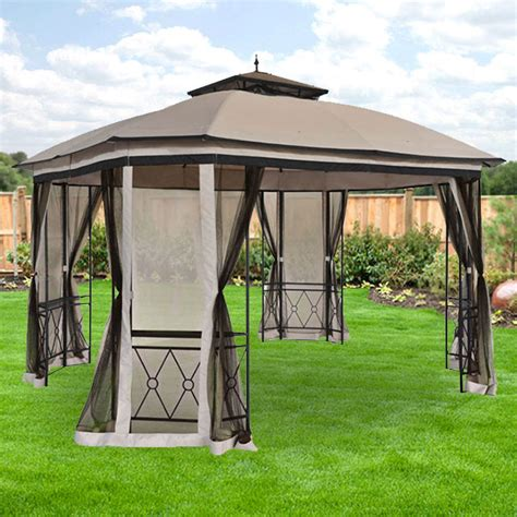 replacement canopy for bay finial gazebo riplock 350