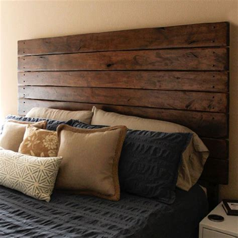 diy wood panel headboard home dzine bedrooms surprisingly easy diy headboard ideas