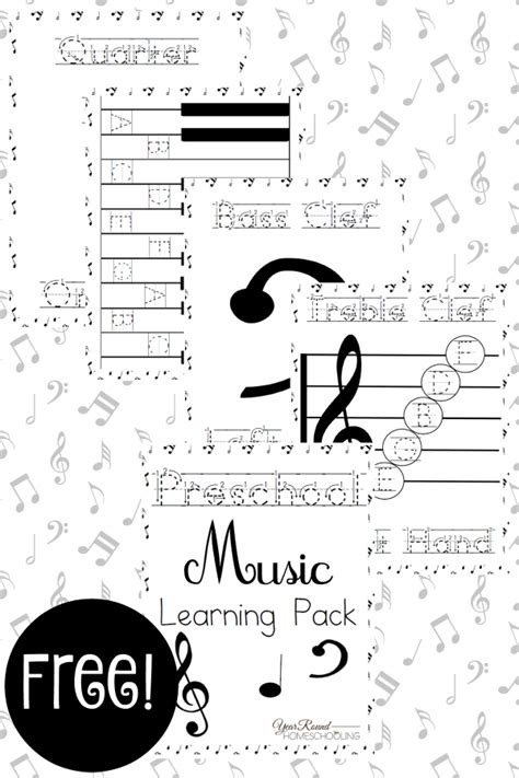 kindergarten activities music free preschool music lesson printable pack money saving mom 174