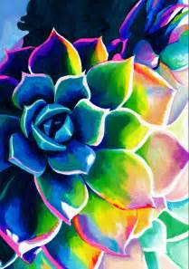 cool color drawings supplication succulent colorful rainbow spiritual neon