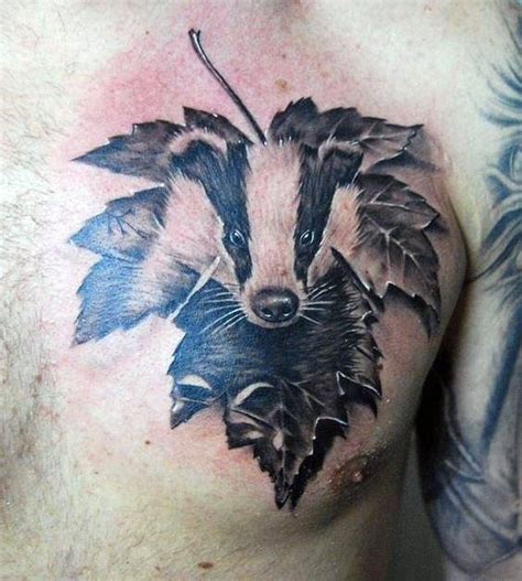 30 honey badger designs for fierce ink ideas