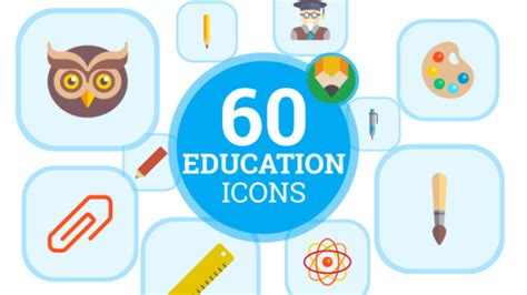 University Graduation Student Flat Animated Icons And Elements Corporate Envato Videohive Bourne Identity Style Free After Effects Template