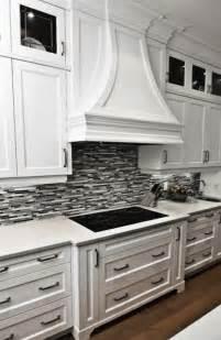green glass tiles gorgeous kitchen with crisp white kitchen cabinets white quartz