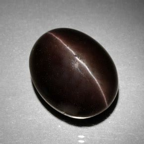Black Sapphire 11 66 Ct 11 7ct brown cat s eye scapolite gem from madagascar