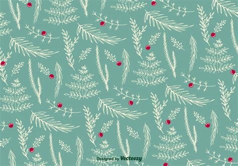 christmas tree grove pattern christmas floral pattern vector download free vector art
