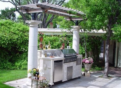 affordable outdoor kitchen ideas affordable ideas for amazing outdoor kitchens interior