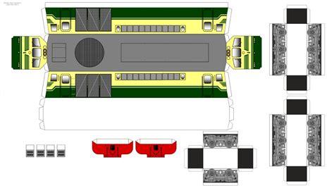 Pola Papercraft - pola papercraft kereta api indonesia terbaru