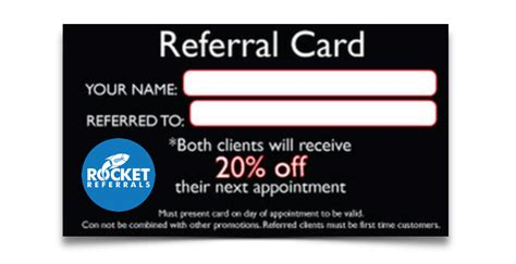 Referral Cards   Rocket Referrals
