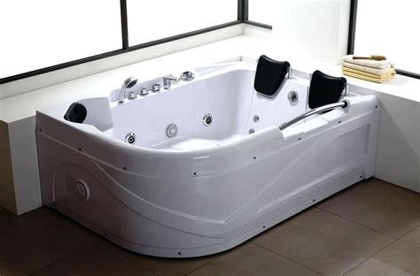 bathtubs for two 71 x 34 two person whirlpool jetted bathtub with dual head