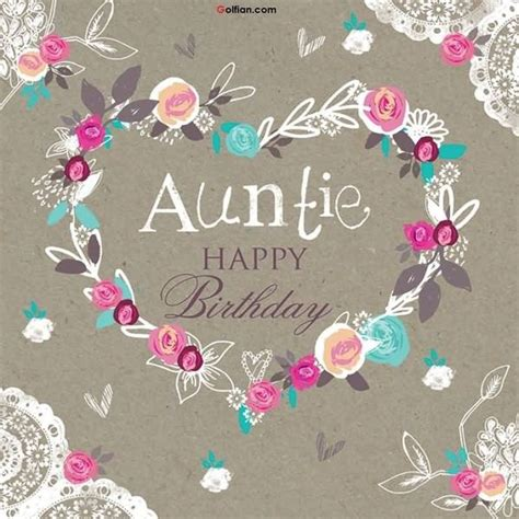 Happy Birthday Quotes For Aunts Happy Birthday Auntie Wishes With Images