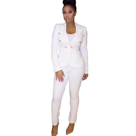 white pant suit popular white pant suits for buy cheap white pant suits for lots from china white