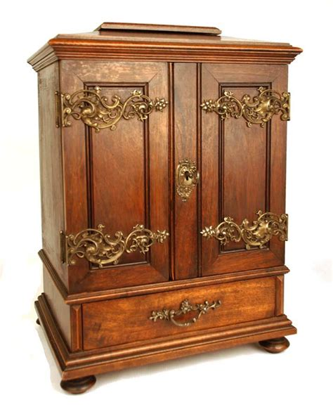 Mini Armoire by Antique Miniature Armoire Cabinet From Parischateau
