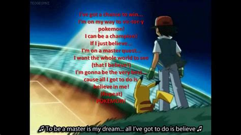theme songs for pokemon pokemon theme song lyrics www imgkid com the image kid