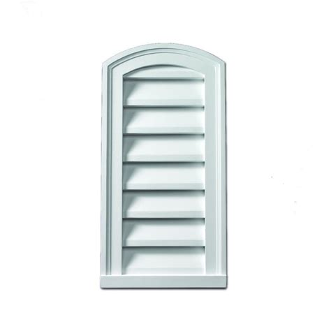fypon gable vents fypon 12 in x 24 in x 2 in polyurethane decorative