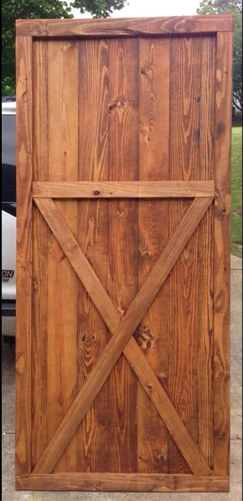 Barn Door Wood Barn Door Wood Interior Door Reclaimed Wood Home Decor