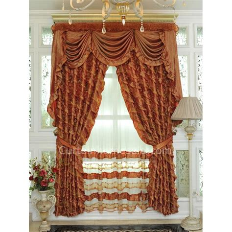 burnt orange color curtains antique gold curtains with kind of burnt orange color with