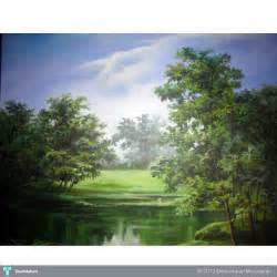 Landscape Pictures On Canvas Landscape Acrylic On Canvas Painting Damodaran