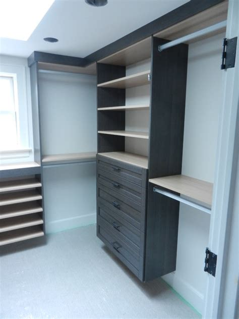 Custom Closets Ct by Multi Finish Custom Walk In Closet System In Westport Ct