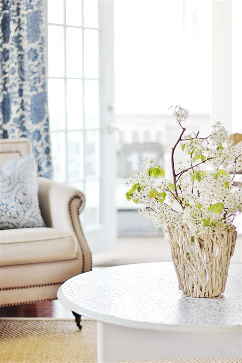 flowers in the living room summer house tour and seven farmhouse projects thistlewood farm