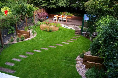 Garden Landscaping Ideas For Small Gardens Small Back Garden Ideas The Garden Inspirations