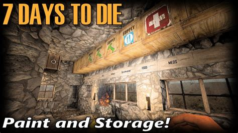Painting 7 Days To Die by Paint And Storage 7 Days To Die Alpha 16 Random