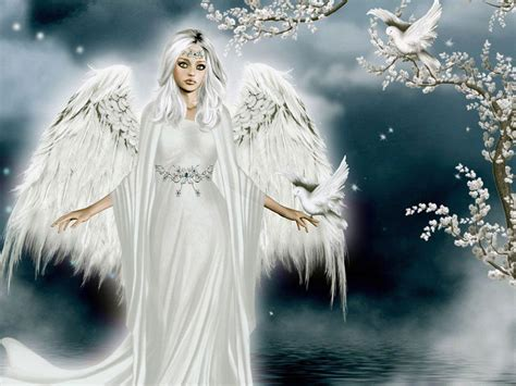 wallpaper christmas angel free angel wallpapers wallpaper cave