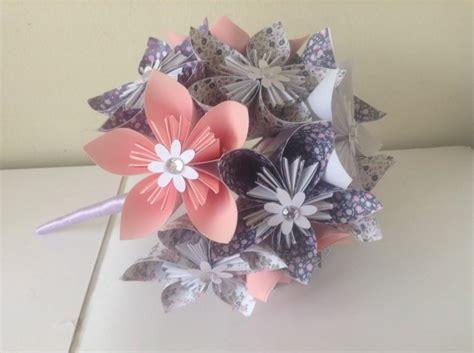 Origami Flower Bouquet Wedding - decor origami kusudama paper flower bouquet 2601569