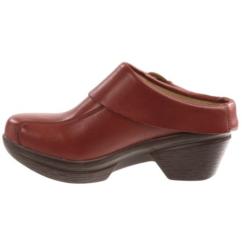 9375p 4 Sanita Open Back Clogs For