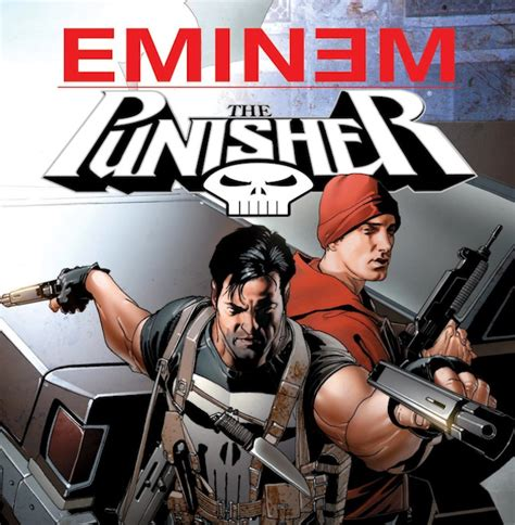 eminem punisher looking back at that weird marvel comic book where eminem