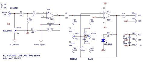 4558 tone circuit diagram low noise tone circuit electronic circuit