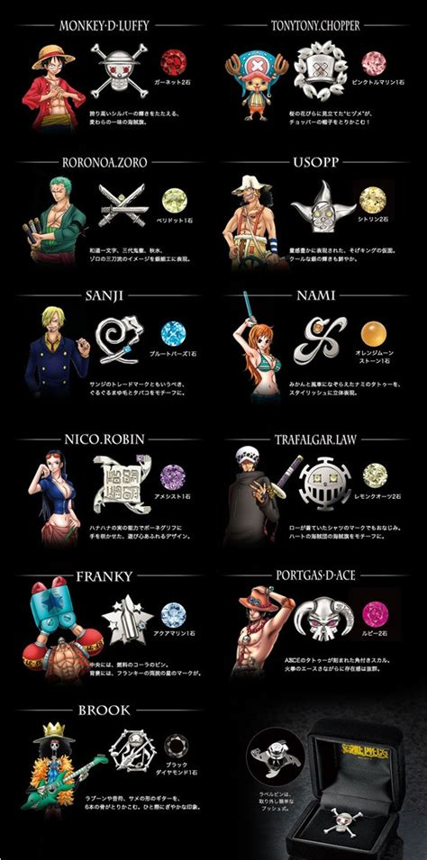 "Crunchyroll   Silver Accessories Inspired by 11 ""One Piece"" Characters Offered"