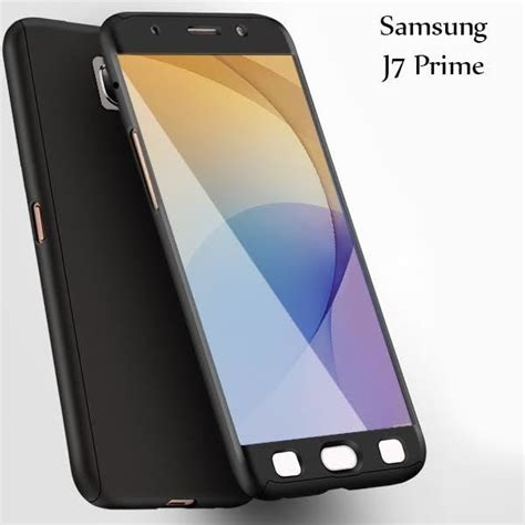 Tpu 360 Samsung Galaxy J7 Prime Free Tempered Glass vaku 174 samsung galaxy j7 prime 360 protection metallic finish 3 in 1 ultra thin slim front
