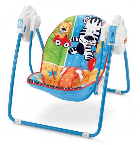 fisher price bouncers and swings fisher price spacesaver swing seat animals deluxe take