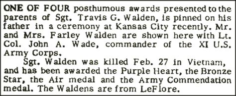 walden book citation togetherweserved sgt travis gary walden