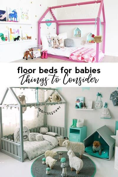 Baby Floor Bed by Floor Beds For Babies Things To Consider