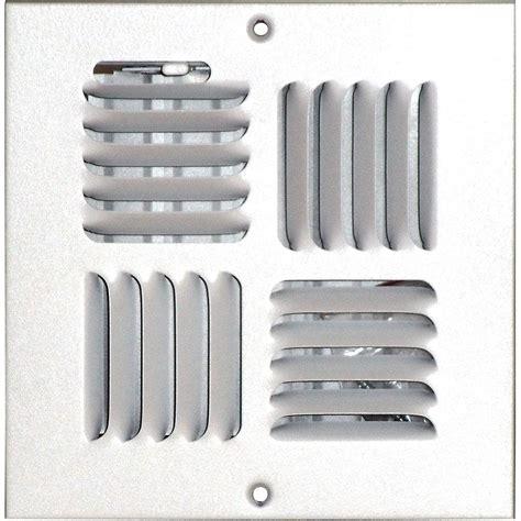 speedi grille 6 in x 6 in ceiling sidewall vent register