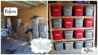 Garage Organization Shelves Diy Storage Shelves Tutorial S Crochet Goodies
