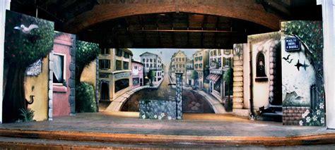 Decor Theatre by D 233 Cor Th 233 Atre 224 Fribourg Graffiti Fresque Et Trompe L Oeil