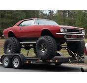Monster Muscle 1967 Camaro 4x4