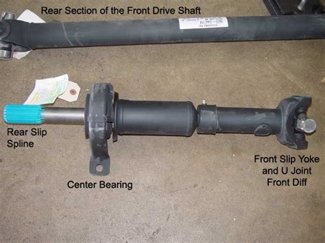 Front Drive Shaft Center Carrier Support Bearing