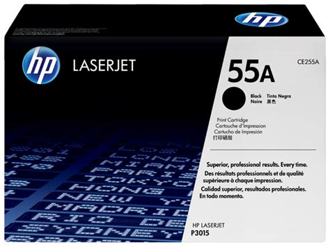 Toner Hp 55a Ce255a hp 55a black original laserjet toner cartridge ce255a hp 174 united states