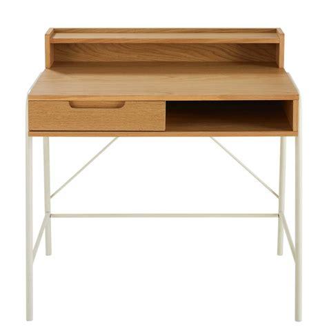 bureau enfant bureau enfant 1 tiroir bicolore april maisons du monde