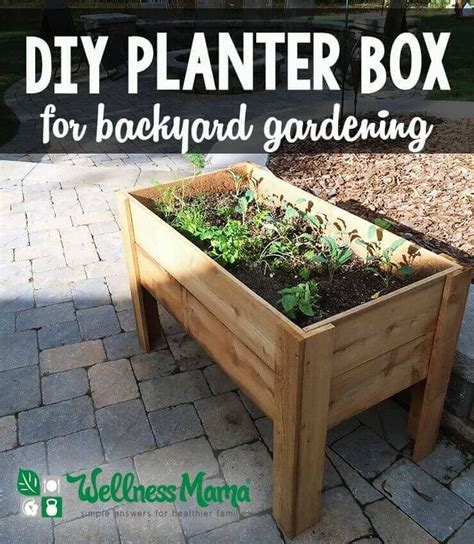 diy herb garden planter 25 best ideas about planter boxes on building
