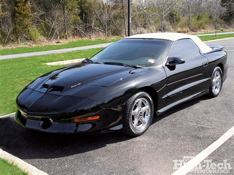 1997 pontiac trans am parts 1997 pontiac ram air trans am convertible gm high tech